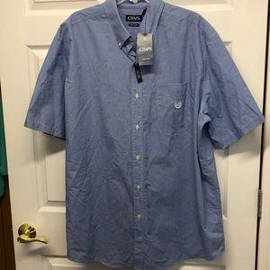 NWT Chaps easy care dress shirt 2XLT